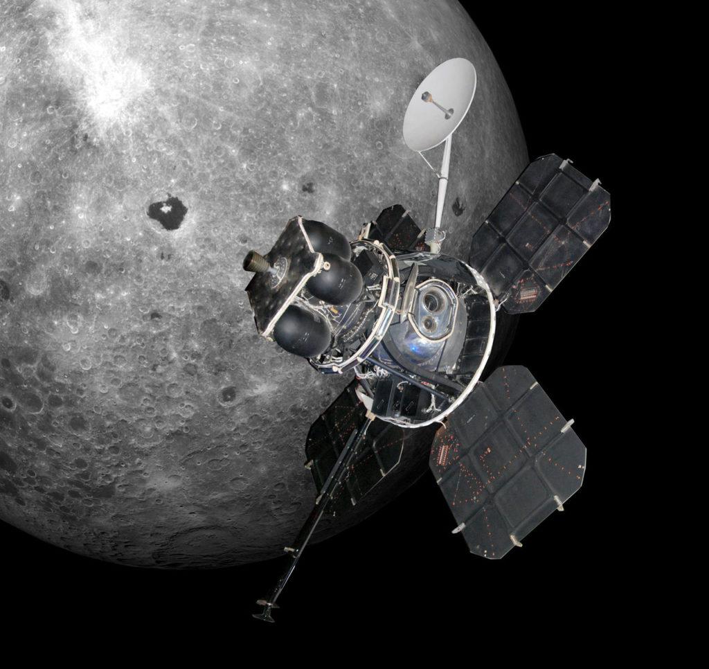 Outro projeto Luna Orbiter, com cinco espaçonaves entre 1966 e 1967, mapearam 99% da superfície lunar.