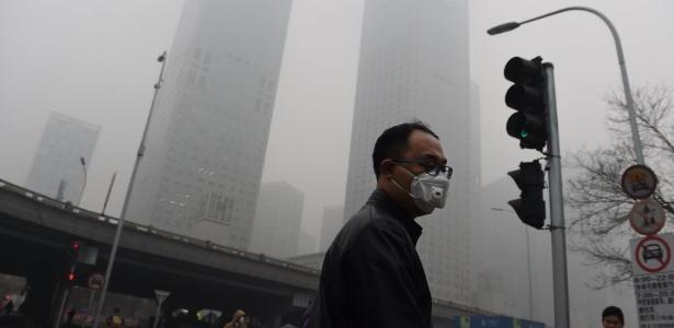 Nove em cada 10 pessoas respiram ar poluído todos os dias.
