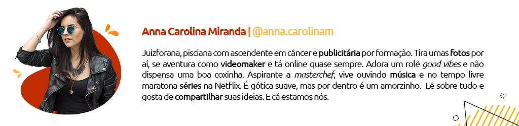 Assinatura de Blog @anna.carolinam