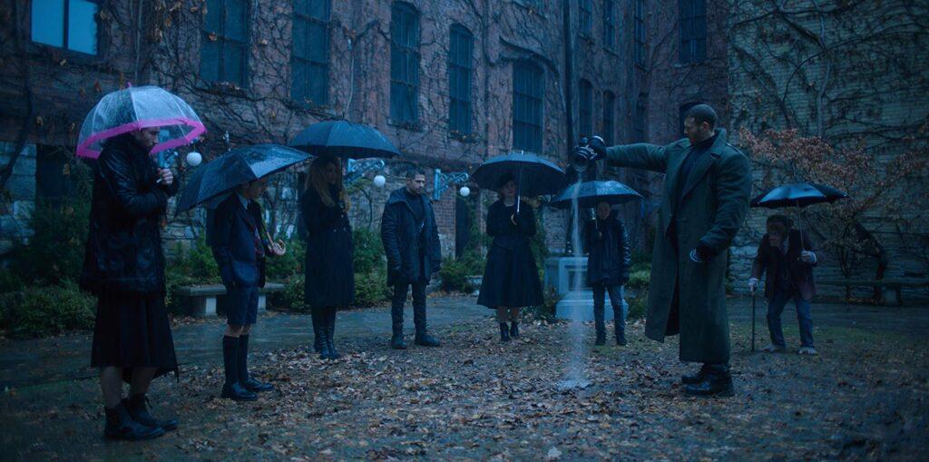 The Umbrella Academy se despede de Hargreeves